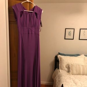 Beautiful never worn purple dress